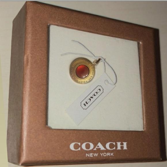 Coach Jewelry - Coach Gold Medallion Charm